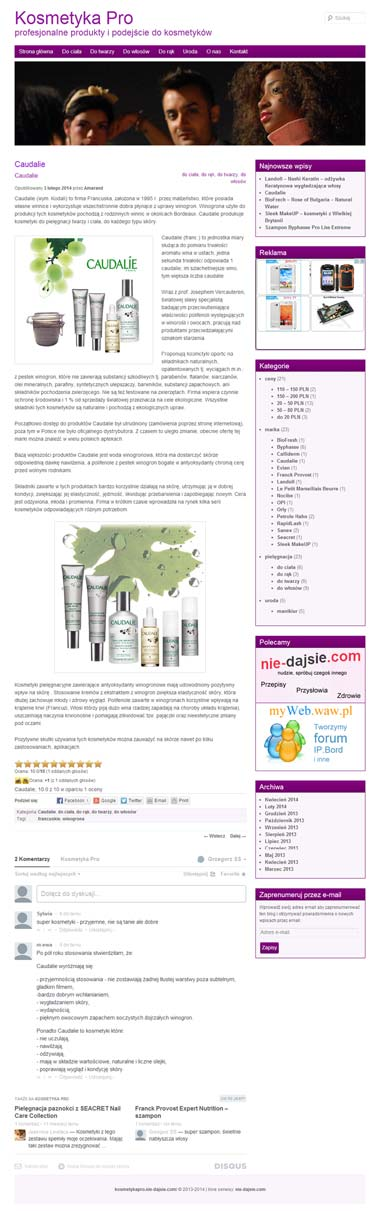www.kosmetykapro.nie-dajsie.com