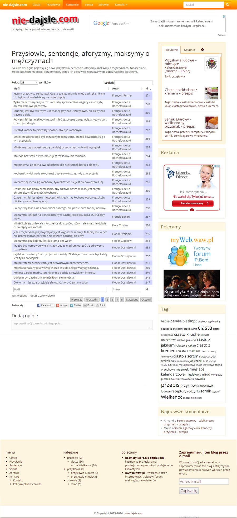 www.nie-dajsie.com - wersja 2